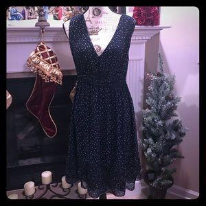 Sophie Max Dresses - 🆕Sophie Max 🦋 Polka Dot Chiffon Dress 🦋